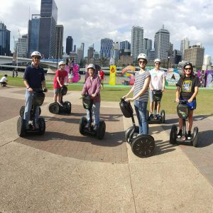 Top segway adventure day ride in Brisbane city