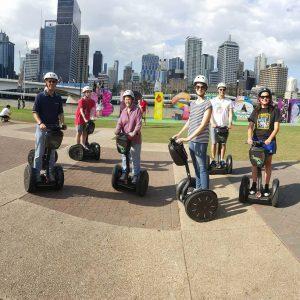 Top segway adventure day ride in Brisbane city