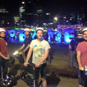 Fun Segway Night Adventure