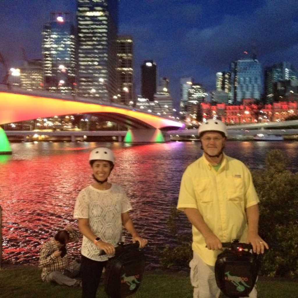 Victoria Bridge Brisbane_Brisbane Segway Night Tours