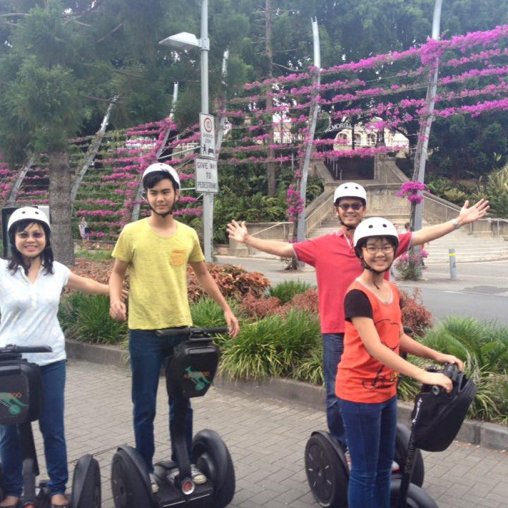 Southbank_Brisbane Segway Tour