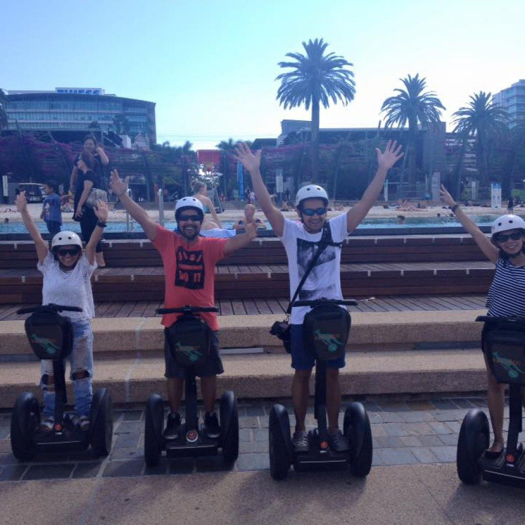 What's on Brisbane today, segway adventure tour of the city